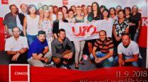 """Mítinku """"Konec levné práce"""" se zúčastnily čtyři desítky členů UZO"""