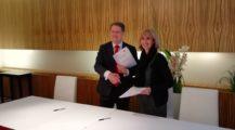 5.2.2019 byla podepsána kolektivní smlouva vyššího stupně mezi UZO a SOCR