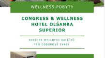 Nabídka wellness pobytů v Hotelu Olšanka pro všechny členy odborových svazů