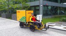 DHL začíná v ČR doručovat balíky nákladním elektrokolem